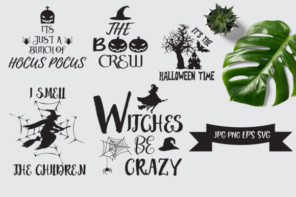 Print on Demand: Halloween Attractive Graphic Print Templates By Ifter Nishat