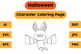 Halloween Coloring Page - Character 12 Graphic Coloring Pages & Books Kids By isalsemarang