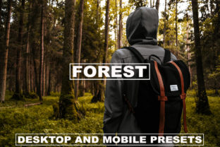 Lightroom Presets Dark Tones Forest Graphic Actions & Presets By Visual Filters