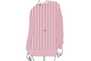 Long Sweater House & Home Quotes Embroidery Design By carasembor