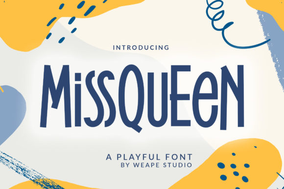 Print on Demand: MissQueen Display Font By Weape Design