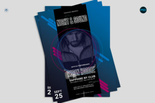 Music Events Flyer V1 Graphic Print Templates By risegraph