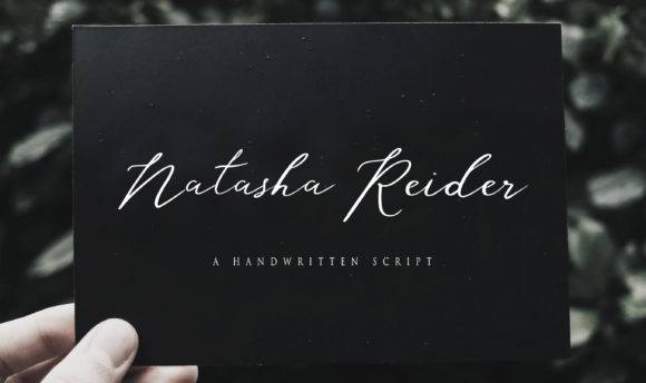 Print on Demand: Natasha Rieder Script & Handwritten Font By Brilian Studio
