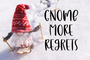 Print on Demand: Naughty Gnomes Script & Handwritten Font By BitongType 8