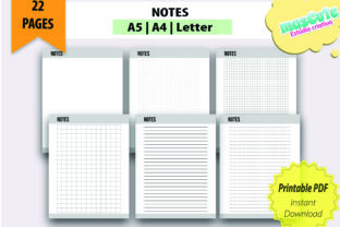 Planner Template Printable Pages Size A5 - 3