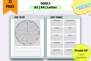 Planner Template Printable Pages Size A5 - 4