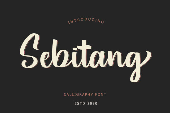 Print on Demand: Sebitang Script & Handwritten Font By formatikastd