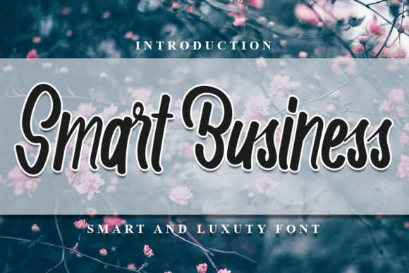 Print on Demand: Smart Business Script & Handwritten Font By NYA Letter