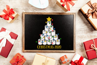 Print on Demand: Toilet Paper Christmas Tree 2020 Graphic Print Templates By Zemira 3