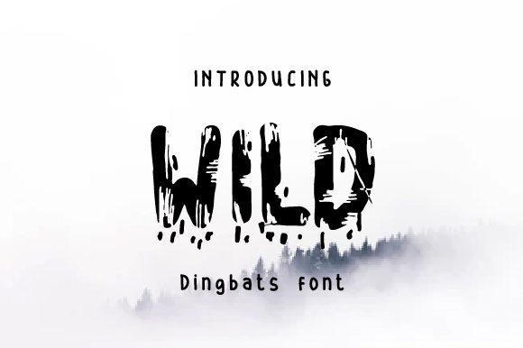 Print on Demand: Wild Display Font By Yafont