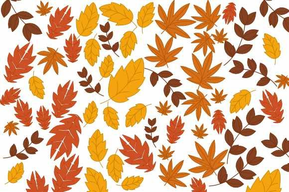Background Autumn Leaves Graphic Backgrounds By sejasaja
