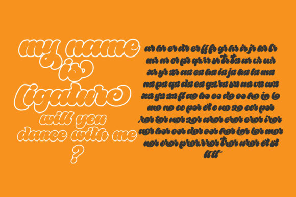 Bailamore Font Preview