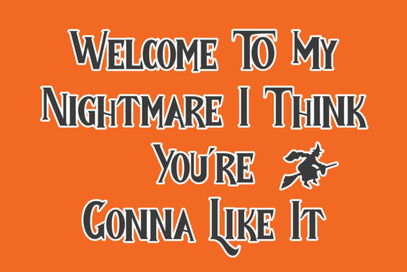 Child Witch Font Image