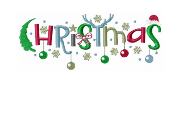 Christmas Christmas Embroidery Design By Sew Terific Designs