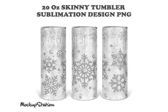 Christmas Skinny Tumbler Sublimation Graphic Download