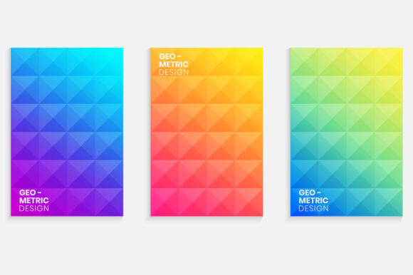 Elegant Cover with Gradient Background Graphic Backgrounds By medelwardi