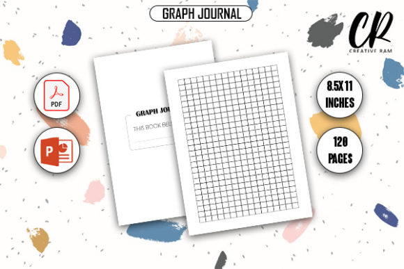 Graph Journal - Kdp Interior Graphic KDP Interiors By Creative Ram