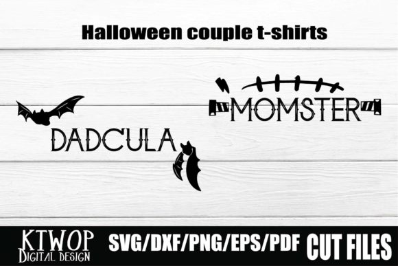 Print on Demand: Halloween Dadcula Momster Graphic Crafts By KtwoP