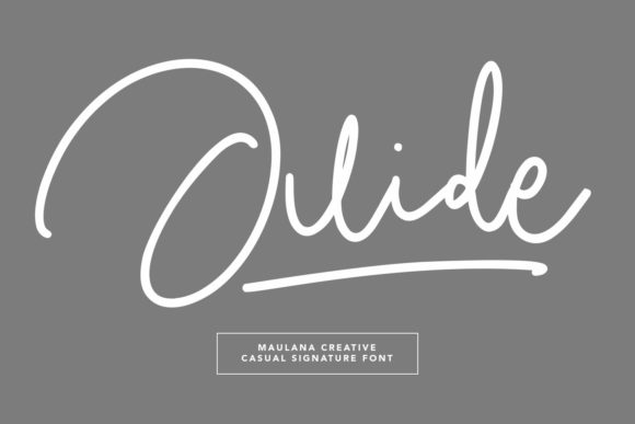 Print on Demand: Juide Script & Handwritten Font By Maulana Creative