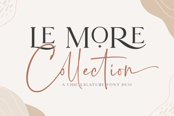 Print on Demand: Le More Collection Script & Handwritten Font By Great Studio