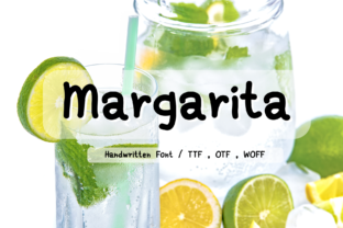 Print on Demand: Margarita Script & Handwritten Font By Aommy Design