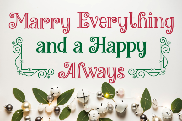 Miracles Christmas Font Download