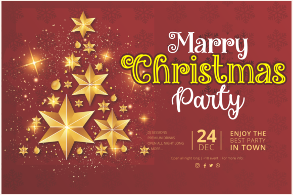 Miracles Christmas Font Design