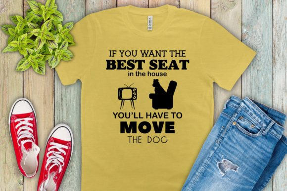 Print on Demand: Move the Dog SVG File for the Cricut Graphic Crafts By richardeley1969
