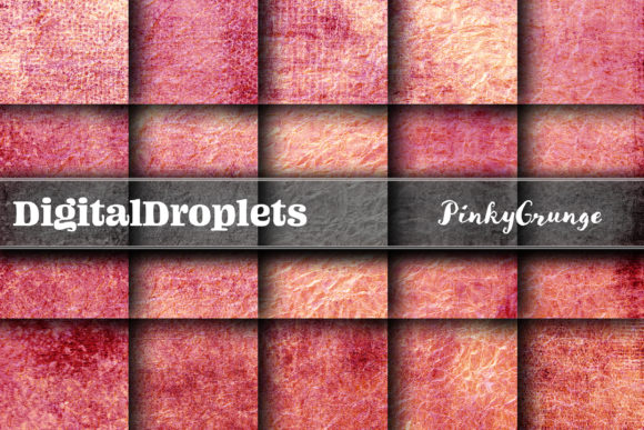 Pinky Grunge Graphic Backgrounds By digitaldroplets