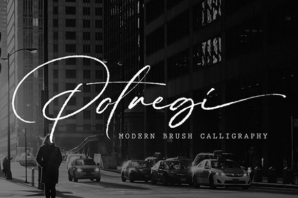 Print on Demand: Potregi Script & Handwritten Font By missinklab