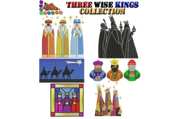 Three Wise Kings Applique Embroidery Download