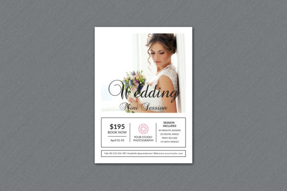 Print on Demand: Wedding Photography Mini Session Graphic Print Templates By sistecbd