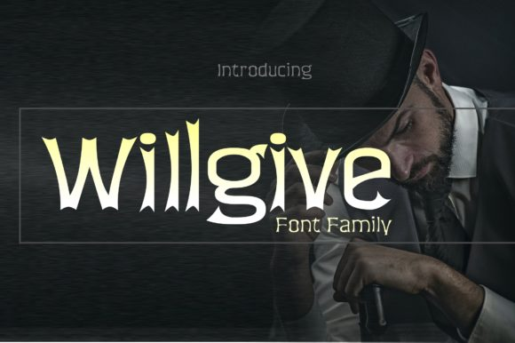 Print on Demand: Willgive Display Font By ZetDesign
