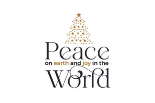 Peace on Earth and Joy in the World Christmas Craft Cut File By Creative Fabrica Crafts