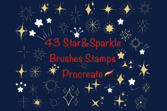 43 star and sparkles