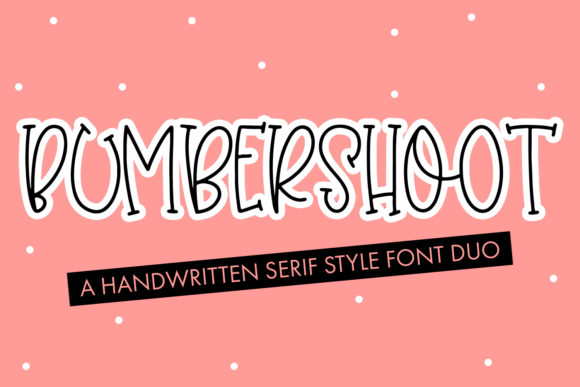 Print on Demand: Bumbershoot Script & Handwritten Font By freelingdesignhouse