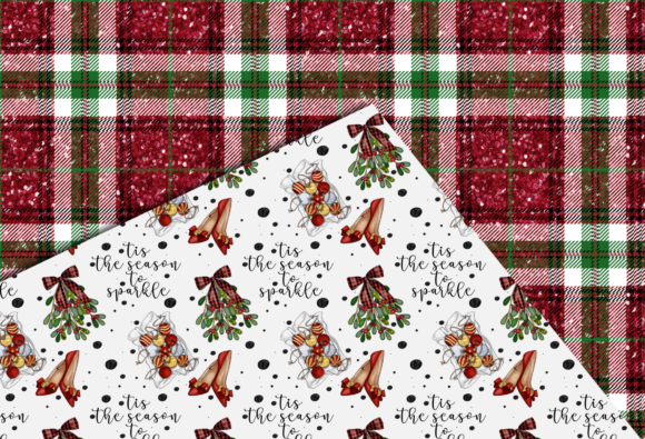 Christmas Seamless Patterns Graphic Design