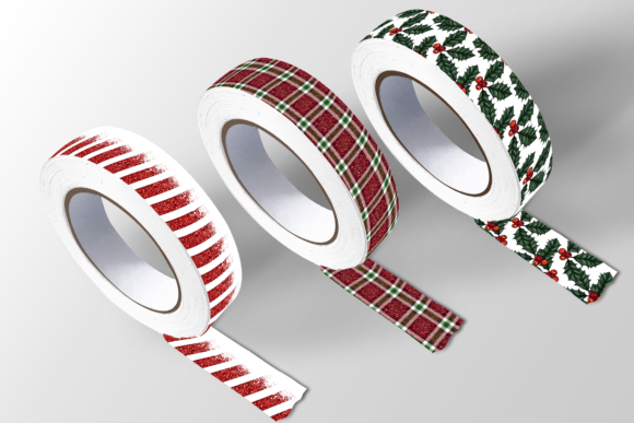 Christmas Seamless Patterns Graphic Downloadable Digital File