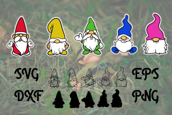 Cute Gnomes Images Graphic