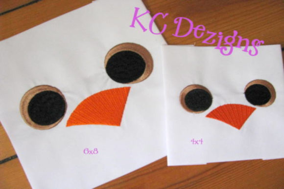 Duck Eyes and Nose Design Boys & Girls Embroidery Design By karen50