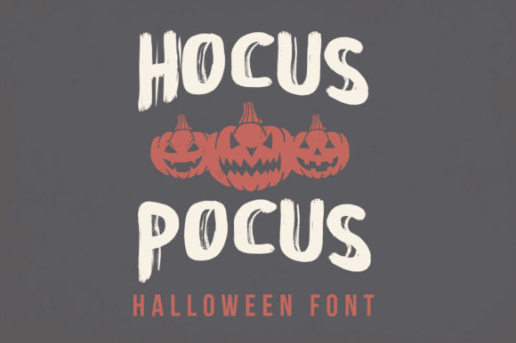 Print on Demand: Hocus Focus Display Font By hugefonts