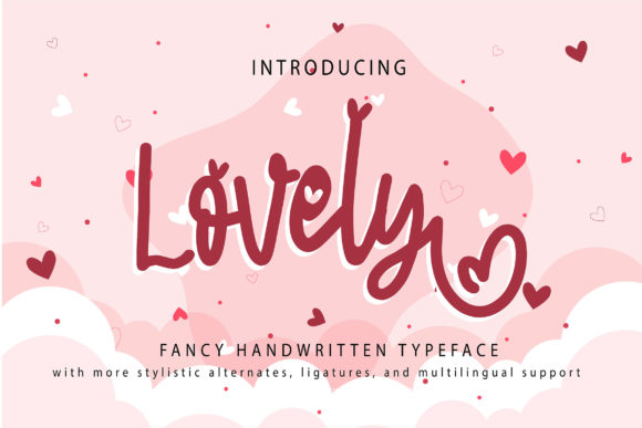 Print on Demand: Lovely Script & Handwritten Font By Vunira