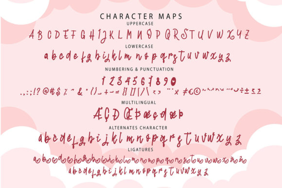 Lovely Font Preview