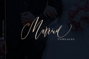Print on Demand: Married Script & Handwritten Font By joelmaker