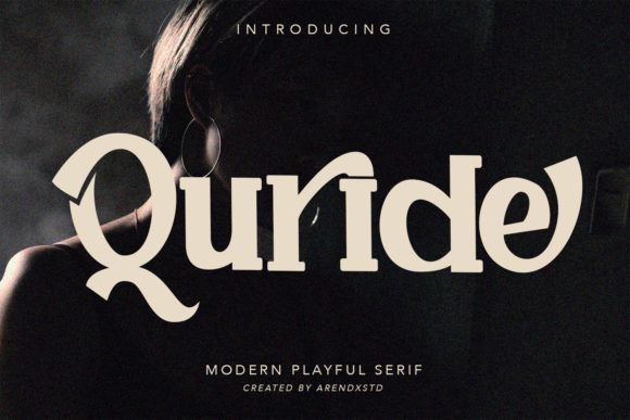 Print on Demand: Quride Serif Font By Arendxstudio