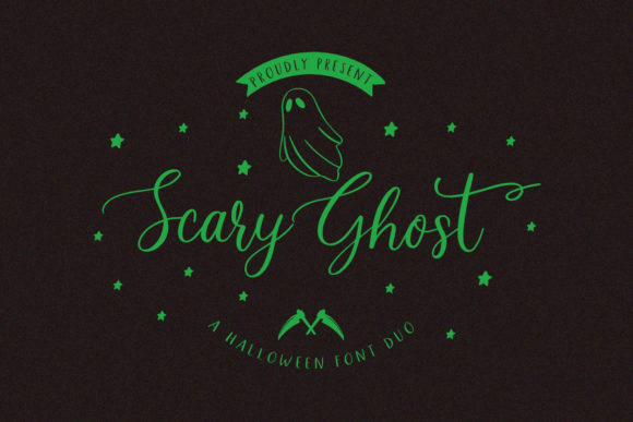 Print on Demand: Scary Ghost Script & Handwritten Font By jimtypestudio