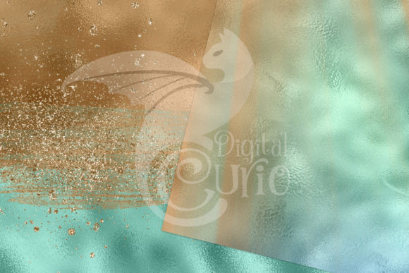 Tranquil Lagoon Digital Paper Graphic Item