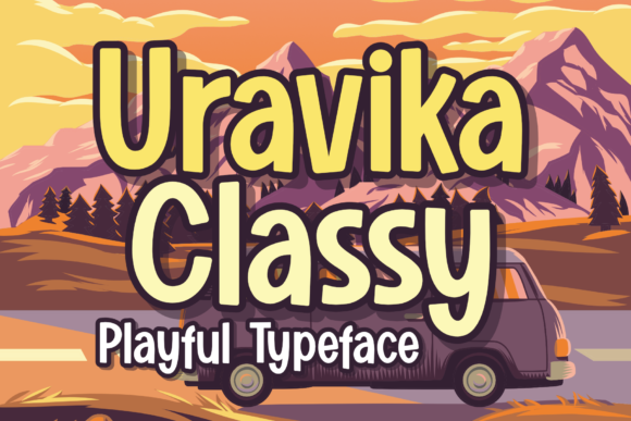 Print on Demand: Uravika Classy Display Font By DUMADI