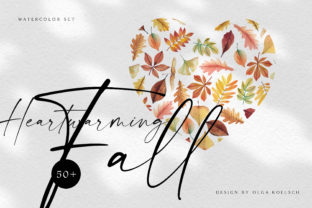Watercolor Fall Thanksgiving Greetings Graphic Illustrations By Olga Koelsch