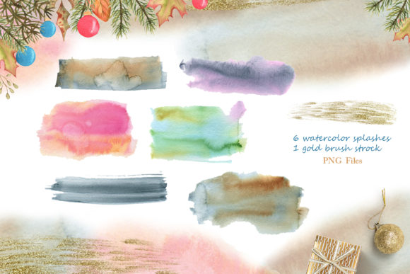 Winter Friends Watercolor Collection Graphic Graphic